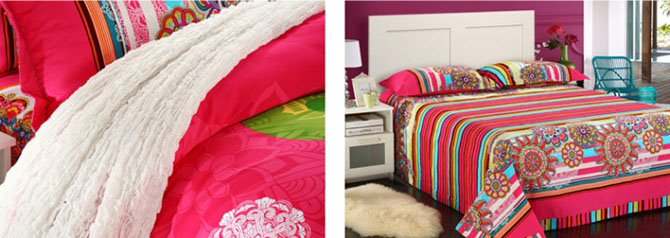 High Class Unique Ethnic Design 4-Piece Cotton Duvet Cover Sets