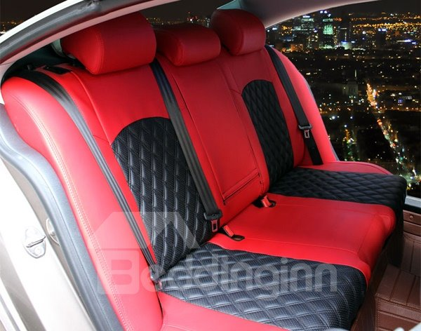 Microfiber Leather Material And Sport Style Car Seat Cover