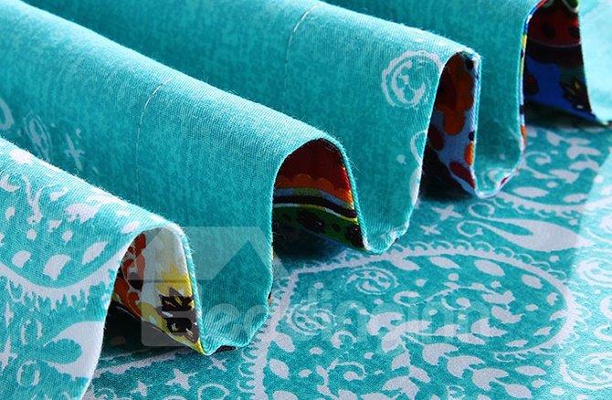 Amazing Bohemian Ethnic Style 4-Piece Cotton Duvet Cover Sets