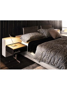 High Class Concise Abstract Pattern 4-Piece Duvet Cover Bedding Sets