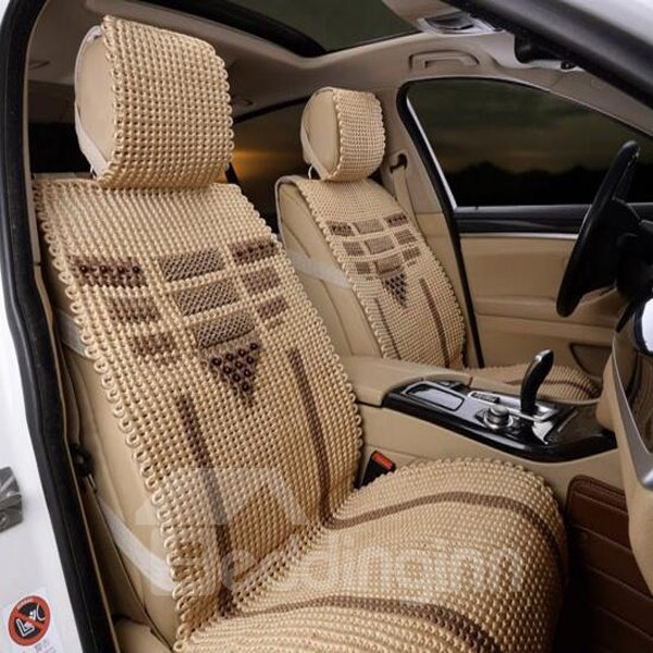 Hand-Woven And Easy To Install Universal Car Seat Cover