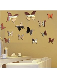 Amazing Acrylic Butterfly Mirror Wall Stickers for Home Decoration