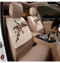 MicroFiber Material And Chinese Plum Style Car Seat Cover