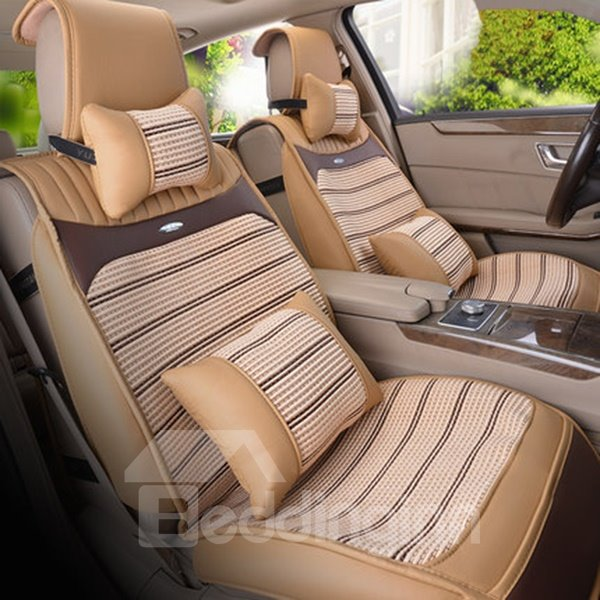 All-Inclusive Cool Ice Silk Material Universal Car Seat Cover