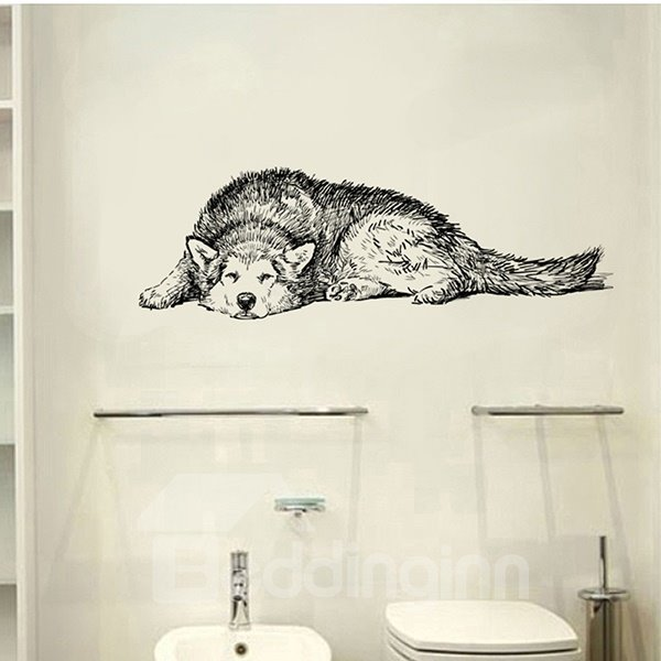 Decorative Cute Dog Pattern Wall Stickers