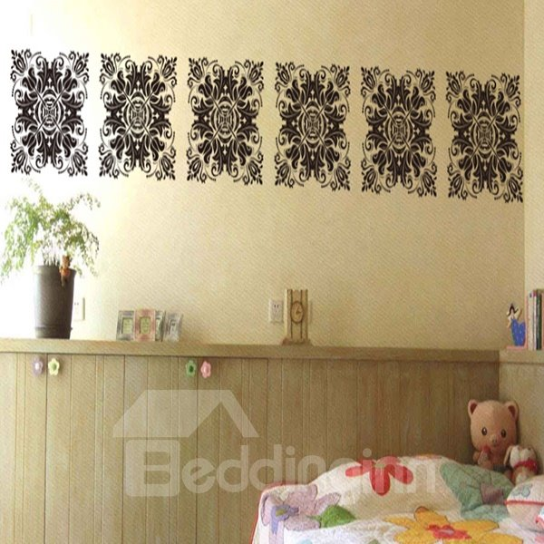 Hot Sale Decorative Pattern Wall and Glasses Stickers