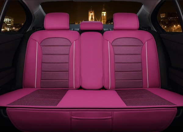 Young Girls Style Classic Leather Universal Car Seat Cover