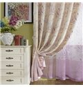 100% Polyester Sweet Pink Grommet Top Curtain Panel