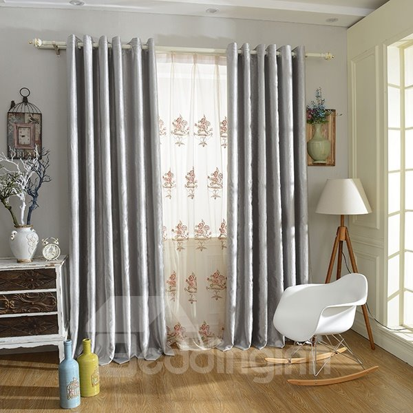 Double Sided Drapes : Pure color double sided velvet shading cloth grommet top