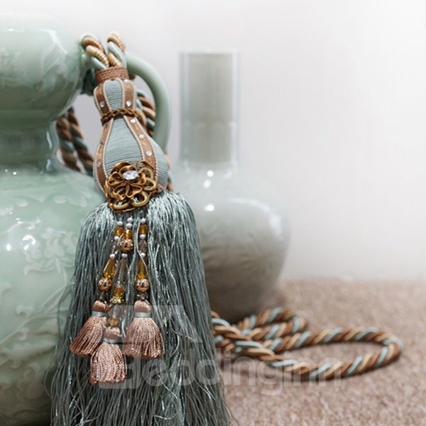 Luxury Tassel Decorative Curtain Tiebacks Beddinginn Com