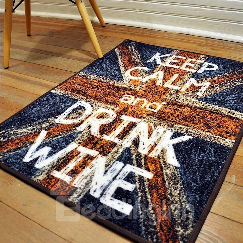 Classic European Style Letter Area Rugs