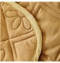 Fashionable Solid Khaki Reactive Printing Polyester Quilt