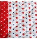 Simple Star and Moon Reactive Printing Polyester Quilt