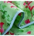 Special Design Floret Print Polyester Summer Quilt