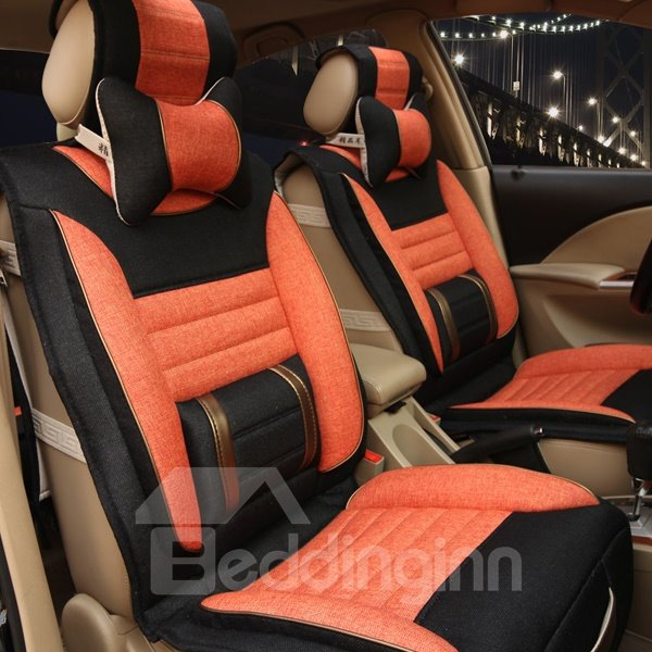 Cost-Effective And Environment Leather Material Universal Car Seat Cover