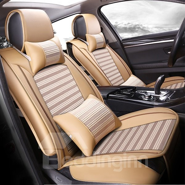 3D Stereoscopic Style Durable Leather Universal Car Seat