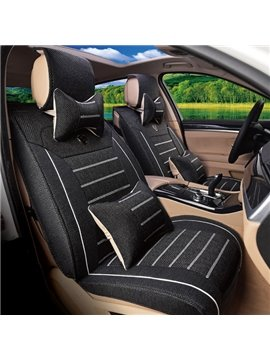 Leather Material And Classic Business Style Car Seat Cover