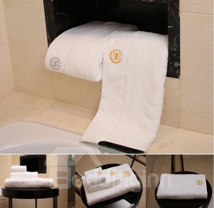High-Quality 100% Cotton Bath Towels Set