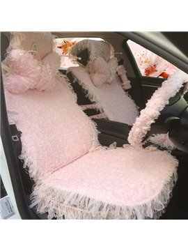 Super Lovely Beautiful Lace Design Universal Car Seat Cover