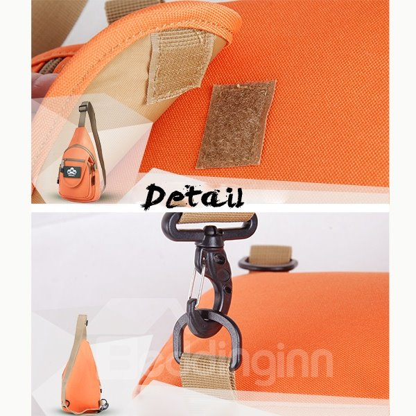 6L Shoulder Sling Unbalance Satchel Outdoor Lightweight Bag