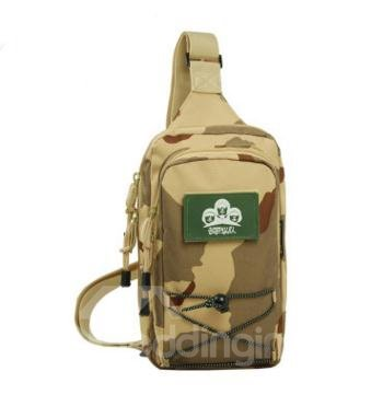 5L Lightweight Bag Shoulder Sling Unbalance Backpack Outdoor Day pack