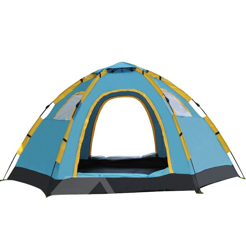 5-8 Person Outdoor Single Layer Tent Windproof