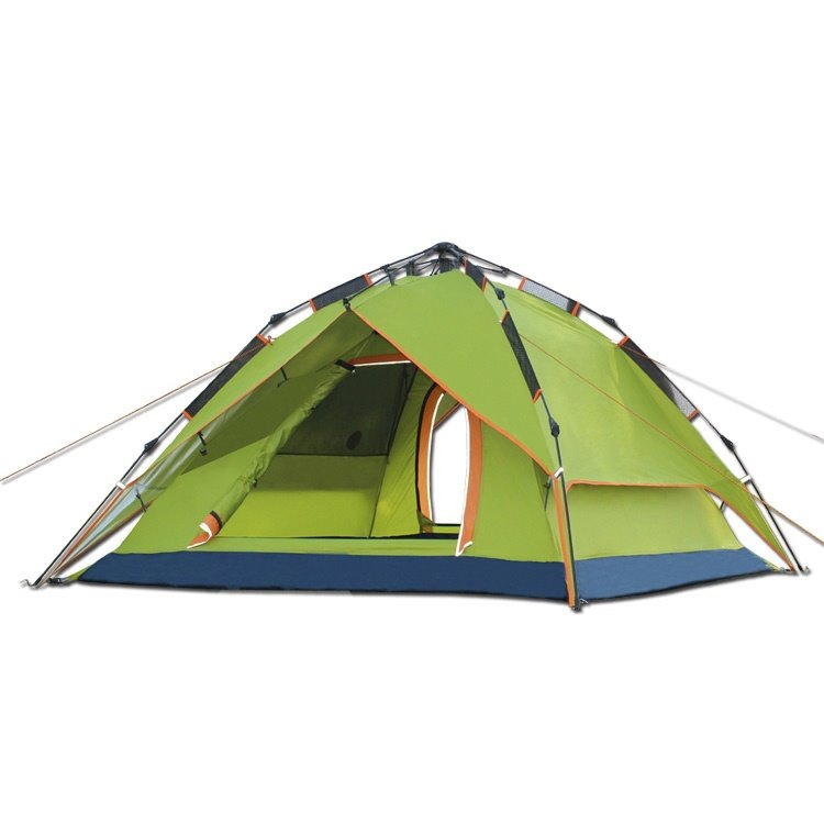 3-4 Person Outdoor Double Layers Tent with