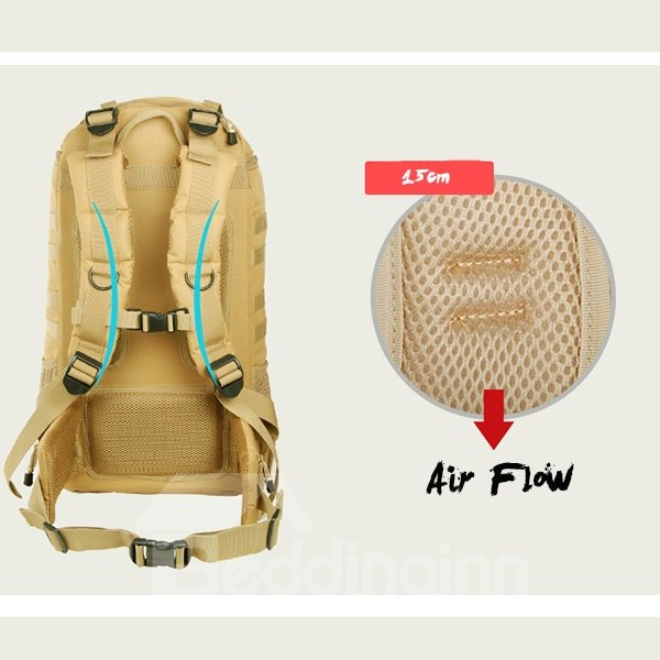 60L Water-resistant Hiking Camping Travel Unisex Day pack High-capacity Backpack
