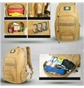 40L Durable Multi-functional Backpack Water-resistant Hiking Camping Day pack