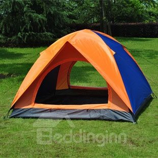 3-4 Person Contrast Color Outdoor Double Layers