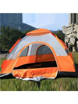 3-4 Person Windproof Outdoor Hiking and Camping UV-Pro Tent