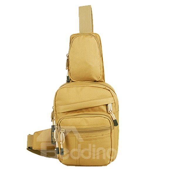 6L Shoulder Sling Unbalance Satchel Outdoor Lightweight Bag
