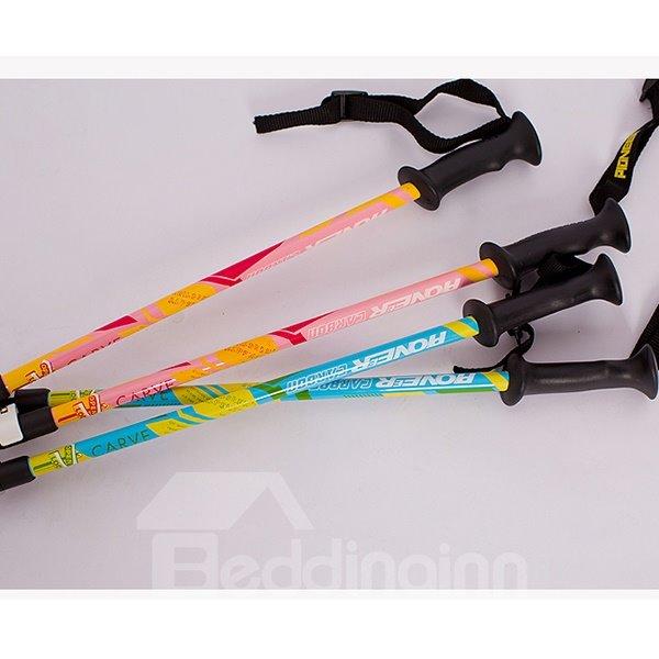 Trekking Hiking Adjustable Nylon Spire Lightweight Cute Children Alpenstock