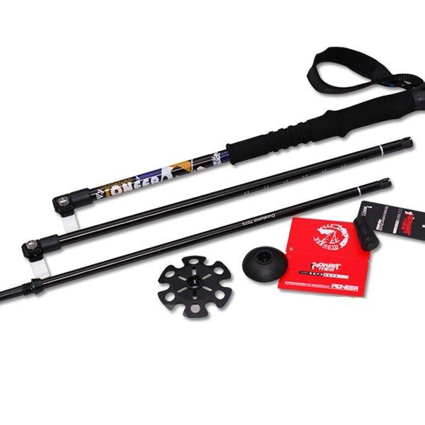 Trekking Hiking Stick Pole Detachable Adjustable Telescoping Alpenstock
