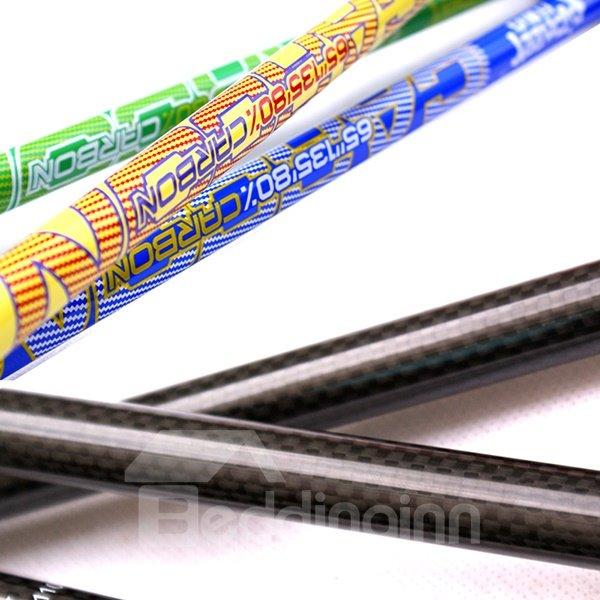 Lightweight Carbon Fiber Triarticular Bright Color Double Alpenstock