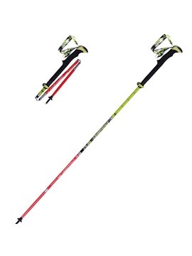 Adjustable Folding Travel Hiking Trekking Stick Pole with Lock Alpenstock
