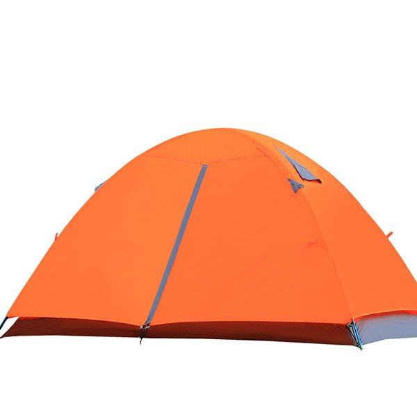 2-Person Outdoor Waterproof Double Layers with Aluminum Alloy Skeleton Camping and Hiking Tent