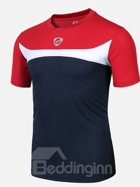 White Strip Short Sleeve Cycling Jersey Quick Drying Shirt
