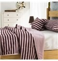 Modern Stripes Super Smooth Comfortable Polyester Quilt