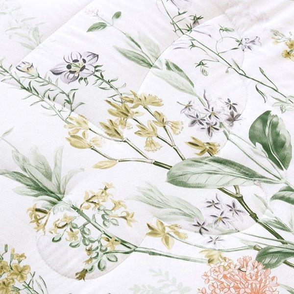 Fashion Elegant Flowers Reactive Printing Modal Quilt