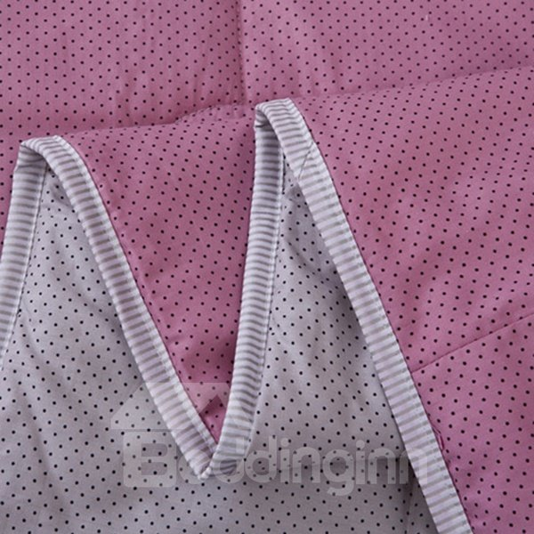 Graceful Sweet Ultra Soft Pink Cotton Quilt