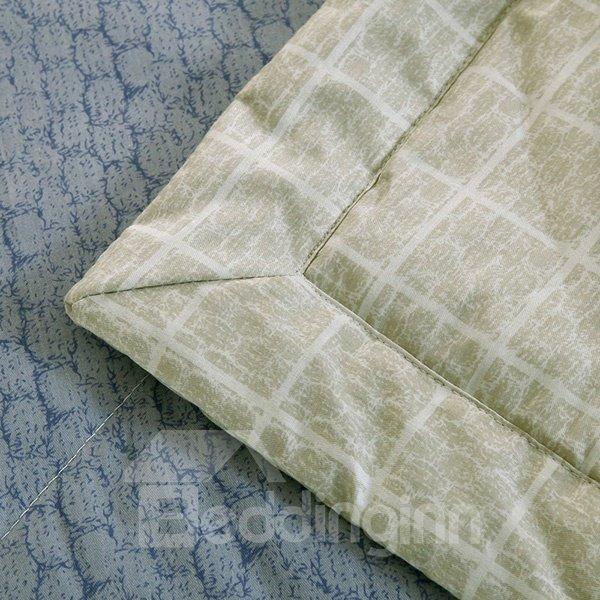 Classical Concise Stripes Pure Cotton Summer Quilt