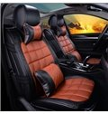 New Classic Business Style PU Leather Material Universal Car Seat Cover