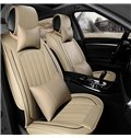 Leather Material Solid Comfortable Universal Car Seat Cover