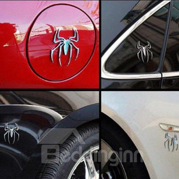 Three-Dimensional Mental Spider Creative Car Sticker