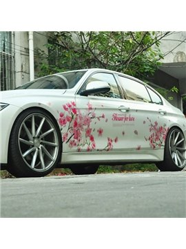 Beautiful Cherry Blossoms Environment Material Creative Car Sticker
