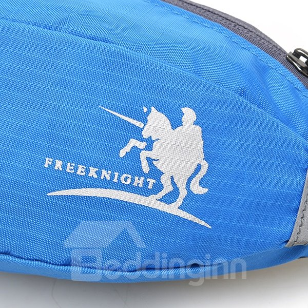1L Lightweight Portable Waterproof Nylon Waist Bag