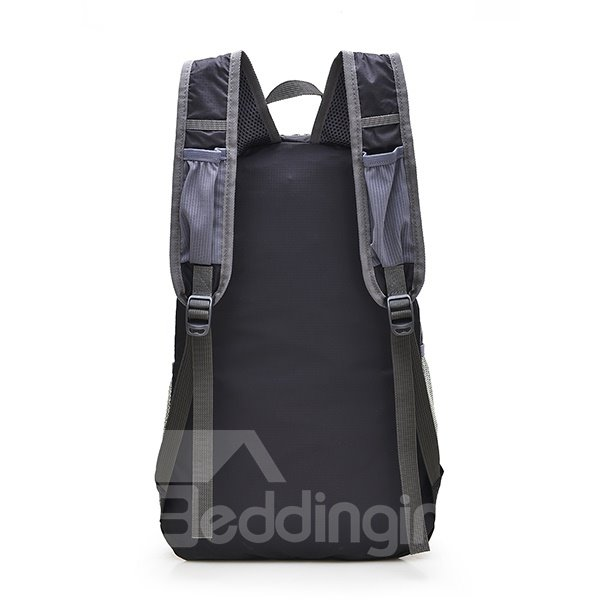 35L Outdoor Camping Hiking Cycling Resistant Foldable High Capacity Nylon Backpack