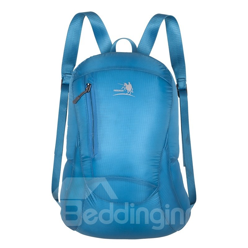 30L Lightweight Solid Color Foldable Waterproof Outdoor Backpack