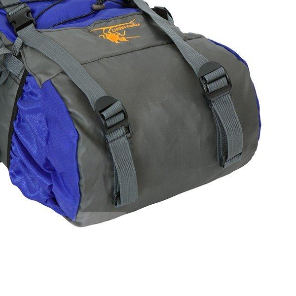 60L Waterproof Nylon Camping Hiking Cycling Extra High Capacity Outdoor Backpack